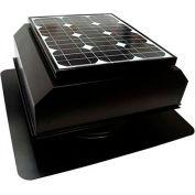 Attic Breeze® Zephyr™ AB-252A-BLK Self-Flashing Attached Solar Attic Fan, 25W, Black