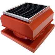 Attic Breeze® GEN 2 AB-3042A-TCT Curb Mount Attached Solar Attic Fan 30W Terra Cotta