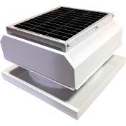 Attic Breeze® GEN 2 AB-3042A-WHT Curb Mount Attached Solar Attic Fan 30W White