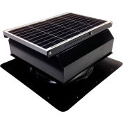 Attic Breeze® GEN 2 AB-4022A-BLK Self-Flashing Attached Solar Attic Fan 40W Black