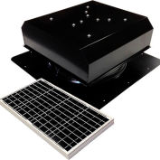 Attic Breeze® GEN 2 AB-4022D-BLK Self-Flashing Detached Solar Attic Fan 40W Black