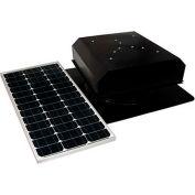 Attic Breeze® Grande™ AB-602-BLK Self-Flashing Detached Solar Attic Fan, Black