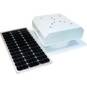 Attic Breeze® Grande™ AB-602-WHT Self-Flashing Detached Solar Attic Fan, White