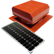 Attic Breeze® GEN 2 AB-6022D-TCT Self-Flashing Detached Solar Attic Fan 60W Terra Cotta