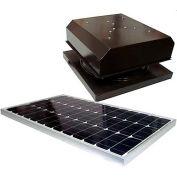Attic Breeze® Grande™ AB-604-BRN Curb Mount Detached Solar Attic Fan, Brown