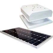 Attic Breeze® Grande™ AB-604-WHT Curb Mount Detached Solar Attic Fan, White