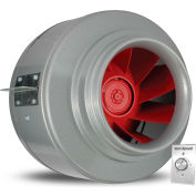 Vortex Powerfan 12'' V-Series In-Line Duct Fan V12XL-A - 2050 CFM with Vari-Speed Speed Control Kit