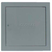 "Multi Purpose Metal Access Panel, Cam Lock, Gray, 10""W x 10""H"