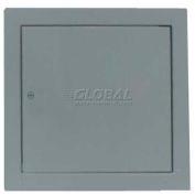 "Multi Purpose Metal Access Panel, Cam Lock, Gray, 18""W x 18""H"