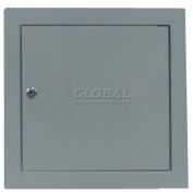 "Multi Purpose Metal Access Panel, Key Lock, Gray, 22""W x 30""H"