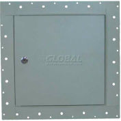 "Concealed Frame Access Panel For Wallboard And Lock, White, 24""W x 24""H"