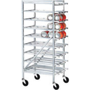 Advance Tabco CR10-162M-X, Full Size Can Rack, 162 (#10 Cans). 216 (#5 Cans)