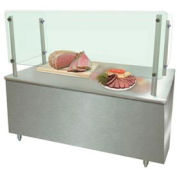"""Cooking/Carving Food Shield, 48"""" wide, height as specified (24"""" maximum)"""