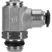 Alpha Fittings Flow Control 50901N-6-M5, Screw Adj, Flow Out, 6mm, M5 UNF Thread - Pkg Qty 2