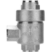 """Alpha Fittings Quick Exhaust Valve 82650-04, 1/4"""" Female Nptf - Min Qty 5"""