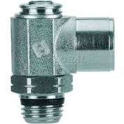 Alpha Fittings Female Flow Control 88962-32-32, Screw Adj, Flow In 10-32 UNF x 10-32 UNF Male - Pkg Qty 2
