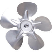 "5-1/2"" One Piece Fixed Hub Blade - 27° Pitch, Counter Clockwise Rotation 1/4"" Bore - Min Qty 12"