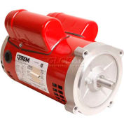 "Alltemp CP-R1362, 6.5"" Dia. X 8.2""L Hot Water Circulator Pump Motor w/ Ball Bearings - 3/4 HP, 8.8A"