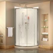 """DreamLine DL-6154-01FR Prime 36 3/8"""" x 36 3/8"""" Shower Enclosure Base & QWALL-4 Shower Backwall Kit"""
