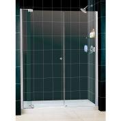 "DreamLine DL-6432L-01CL Allure Pivot Shower Door & SlimLine 30"" x 60"" Shower Base Left Drain"