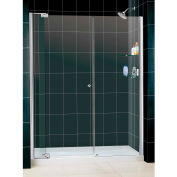 "DreamLine DL-6435L-01CL Allure Pivot Shower Door & SlimLine 36"" x 60"" Shower Base Left Drain"