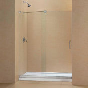 "DreamLine DL-6441R-01CL Mirage Sliding Shower Door & SlimLine 30"" x 60"" Shower Base Right Drain"