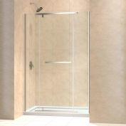 """DreamLine DL-6447C-04CL Vitreo-X Frameless Shower Door & SlimLine 32"""" x 60"""" Shower Base Center Drain"""