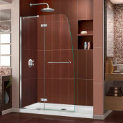 "DreamLine DL-6521C-01CL Aqua Ultra Shower Door & SlimLine 32"" x 60"" Shower Base Center Drain"