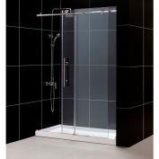 """DreamLine DL-6620R-08CL Enigma-X Shower Door & SlimLine 30"""" x 60"""" Shower Base Right Drain"""
