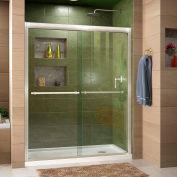 """DreamLine DL-6953R-04CL Duet xpass Sliding Shower Door & SlimLine 36"""" x 60"""" Shower Base Right Drain"""