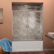 "DreamLine™ Visions Clear Glass Bathtub Door SHDR-1160586-04, 56""-60"" x 58"""