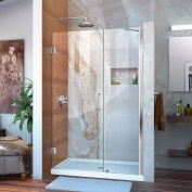 "DreamLine™ Unidoor Frameless Adjustable Shower Door SHDR-20477210-01, 47""-48"""
