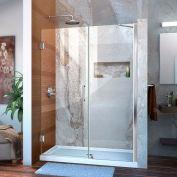 """DreamLine™ Unidoor Frameless Adjustable Shower Door SHDR-20517210-01, 51""""-52"""""""
