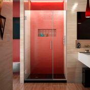 """Dreamline SHDR-243807210-04 Unidoor Plus Hinged Shower Door, Brushed Nickel, 38 to 38-1/2"""" x 72"""""""