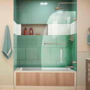 "DreamLine™ Aqua UNO Single Panel Hinged Tub Door SHDR-3534586-04, 34"" x 58"""