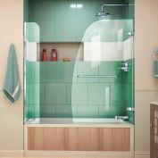 """Dreamline SHDR-3534586-EX-01 Aqua Uno Hinged Tub Door, Chrome, 56 to 60"""" x 58"""""""
