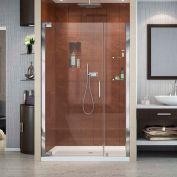 """DreamLine SHDR-4147720-01 Elegance 47 3/4 """" - 49 3/4"""" Frameless Pivot Shower Door Chrome Finish"""