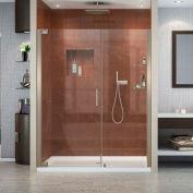"DreamLine SHDR-4156720-04 Elegance 56 1/4 ""-58 1/4"" Frameless Pivot Shower Door Brushed Nickel"