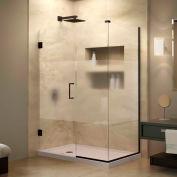 "Dreamline SHEN-24310340-HFR-06 Unidoor Plus Hinged Shower Enclosure, Bronze, 31"" x 34-3/8"" x 72"""