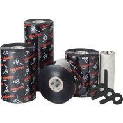 Inkanto AXR 7+ Premium Resin Ribbons, 110mm W x 74m L, Black, 24 Rolls/Case
