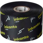 Inkanto AWX FH Resin Enhanced Wax Ribbons, 165mm W x 360m L, Black, 6 Rolls/Case