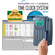 Amano Time Guardian® Automated Time Clock System, Gray, MTX-15/A300