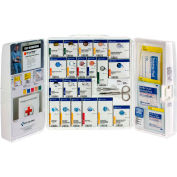 First Aid Only 1301-FAE-0103 SmartCompliance Plastic Food Service Cabinet W/o Medications, 50 Person