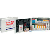 Pac-Kit® 2-Shelf 100 Person First Aid Station