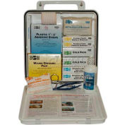 Pac-Kit® #50 ANSI Plus Weatherproof Plastic First Aid Kit