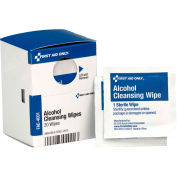 First Aid Only FAE-4001-001 SmartCompliance Refill Alcohol Wipes, 20/Box - Pkg Qty 24