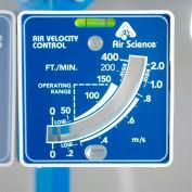 "Air Science® VELOMETER Air Velocity Meter, 5""W x 5""H x 2""D"