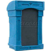 Summit™ DaVinci Lectern, Blue Granite Shell/Black Marble Front Insert