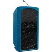 Summit™ Integrator Lectern, Blue Granite Shell/Maple Front Insert