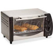 """Avanti T9 - Toaster Oven, Automatic Shut Off, 9-4/5""""L x 15""""W, Stainless Steel"""